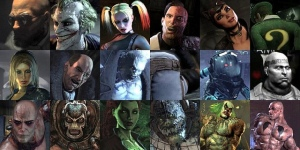 arkham city villains
